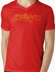 Doctor Who - The Doctor's name in Gallifreyan #2bis Mens V-Neck T-Shirt