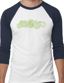Doctor Who - The Doctor's name in Gallifreyan #3 Men's Baseball ¾ T-Shirt