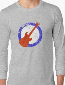 Guitar Mod Distressed Long Sleeve T-Shirt