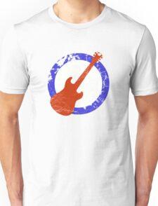 Guitar Mod Distressed Unisex T-Shirt