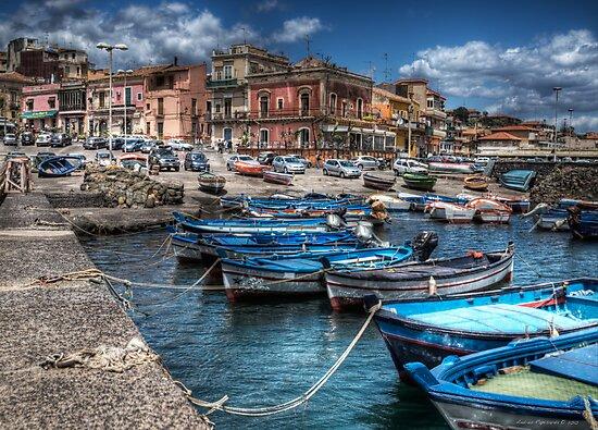 Aci Trezza: il porto by Andrea Rapisarda