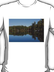Lakeside Cottage Living - Reflecting on Relaxation T-Shirt