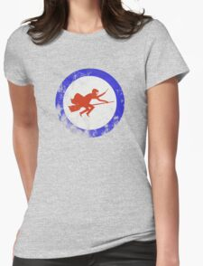 Ministry of Magic Air Force Insignia UK distressed Womens Fitted T-Shirt