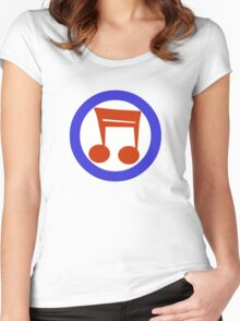 Music Mod Women's Fitted Scoop T-Shirt