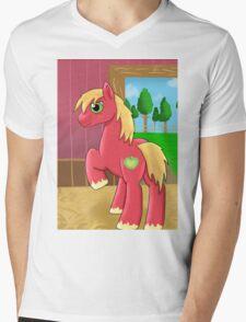 Big Macintosh Mens V-Neck T-Shirt