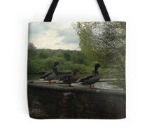 Quick duck!! Tote Bag