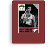 Donny Donowitz Ball Card Canvas Print