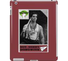 Donny Donowitz Ball Card iPad Case/Skin