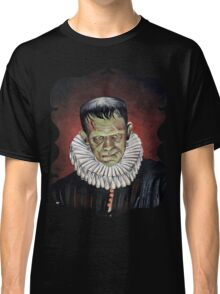 Renaissance Victorian Portrait - Frankenstein Classic T-Shirt