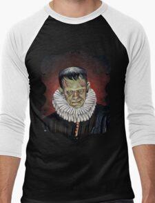Renaissance Victorian Portrait - Frankenstein Men's Baseball ¾ T-Shirt