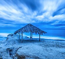 STREAKS ABOVE THE SHACK by joseph s  giacalone
