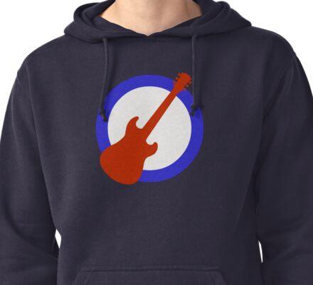 Guitar Mod Pullover Hoodie