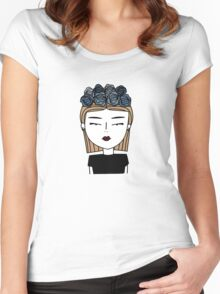 SHE: BORN TO DIE Women's Fitted Scoop T-Shirt
