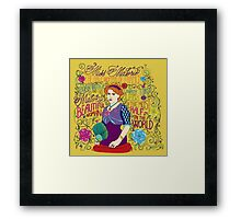 Malorie the Half Woman of France Framed Print