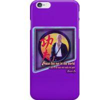 Kung Fu vintage 'aged' version iPhone Case/Skin