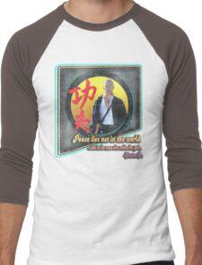 Kung Fu vintage 'aged' version Men's Baseball ¾ T-Shirt