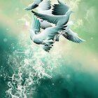 Flying like spirits by Sodya