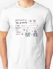 Mia Hamm Quote Art T-Shirt
