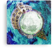 Christmas at the Natural History Museum Oxford - Planet Canvas Print
