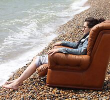 The Worlds Most Comfortable Deckchair by Mark Tull