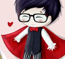 amazingphil - king of hearts Sticker