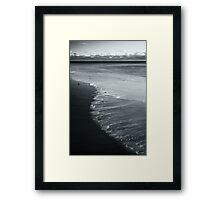 Wave detail , Compton Beach Framed Print