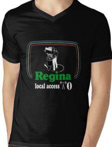 Regina Local Access Mens V-Neck T-Shirt