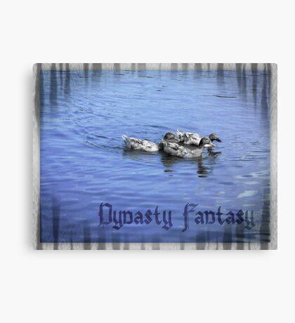 Duck Fantasy Canvas Print