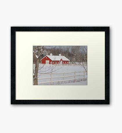 Home on the Farm Framed Print