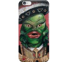 Renaissance Creature From The Black Lagoon iPhone Case/Skin