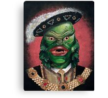 Renaissance Creature From The Black Lagoon Canvas Print
