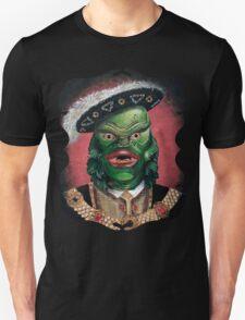 Renaissance Victorian Portrait - Creature from the Black Lagoon Unisex T-Shirt