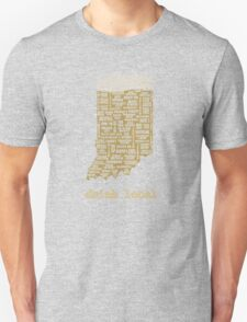 Drink Local - Indiana Beer Shirt T-Shirt