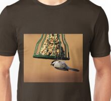 Acrobatic Chickadee Unisex T-Shirt