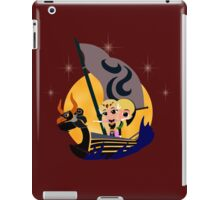 Link and Zelda at Sea - Night iPad Case/Skin