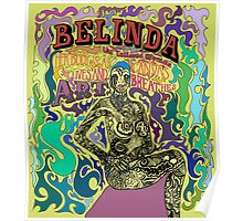 Belinda the tattooed woman Poster