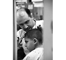 """Barber Shop"" Photographic Print"