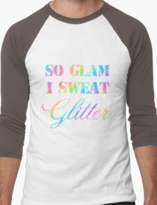 SO GLAM I SWEAT GLITTER Men's Baseball ¾ T-Shirt