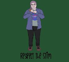Respect the Stim - lizard toy  by Inkanddaggers
