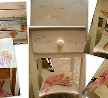 A Side Table Collage by Cathy Amendola