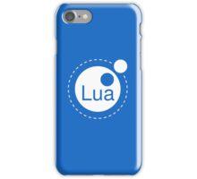 Lua Programming Language Logo iPhone Case/Skin