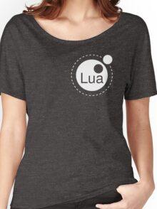 Lua Programming Language Logo Women's Relaxed Fit T-Shirt