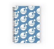 Lua Programming Language Logo Spiral Notebook