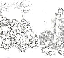 Skulls & Money by Chris Baker