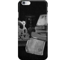 Library Macabre iPhone Case/Skin