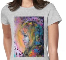 Elf Girl Womens Fitted T-Shirt