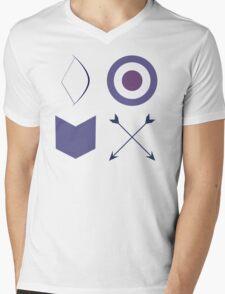 World's Greatest Archer Pattern! Mens V-Neck T-Shirt