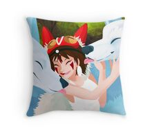 Puppy Brothers Throw Pillow