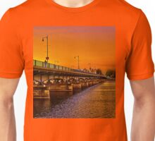 Sunset over Harvard Bridge T-Shirt