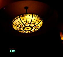 Art Deco Lead Light - Sun Theatre by © Helen Chierego